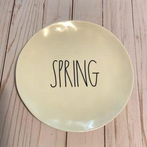 "Rae Dunn Small ""Spring"" plate"